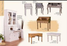 United Furniture - Desks for Home -Solid Wood - available in many colors with delivery in Wiesbaden, GE