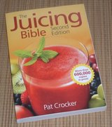 The Juicing Bible Soft Cover Book in Plainfield, Illinois