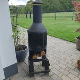 outdoor fireplace in Ramstein, Germany