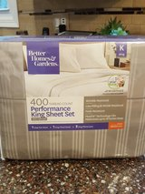 Better Homes & Gardens 400 Thread Count King Sheet Set in St. Charles, Illinois