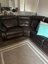 Brown couch in Travis AFB, California