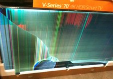 damaged big-screen UHD TVs for DIY parts/repair in Fort Lewis, Washington