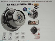Mini Wifi IP Camera HD 1080P Wireless Indoor Camera Nightvision Two Way Audio Motion Detection in Plainfield, Illinois