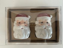 Potterybarn Santa Salt and pepper shakers (3 Available) in Okinawa, Japan