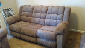 new Living Room Set (couch-both ends recline, Love Seat-both recline and recliner in Clarksville, Tennessee