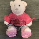 2 Build a Bear Stuffed Toys w/ Clothes EUC in Travis AFB, California