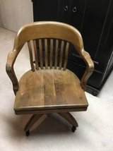Vintage W. H. Gunlocke desk chair in Plainfield, Illinois