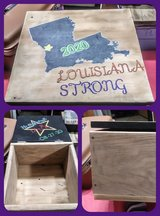 handmade keepsake boxes and such in Leesville, Louisiana
