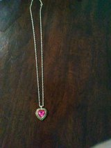 Great long necklace with heart in Yorkville, Illinois