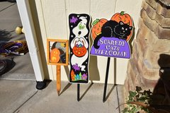 HALLOWEEN OUTDOOR DECORATIONS - Yard Signs in Fort Leavenworth, Kansas