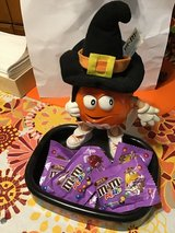 M&M Halloween Orange Witch Candy Dish in Clarksville, Tennessee