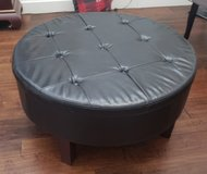 Large Faux Leather Storage Ottoman in Travis AFB, California