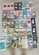 Vintage Road Maps - lot of 35+ in Chicago, Illinois