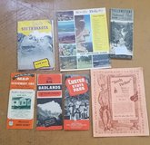 Vintage travel brochures- 1950's in Chicago, Illinois