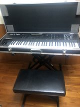 vintage Yamaha workstation, stand for two keyboard, chair,original hard case in Okinawa, Japan