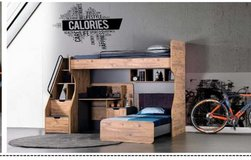 United Furniture - Kanton Bunk Bed Set complete with Mattresses and delivery in Wiesbaden, GE