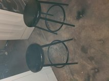 2 metal stools in Tinley Park, Illinois