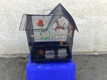 "Bird cage, 22"" x 11"" x 16"" (H, W, L) in 29 Palms, California"