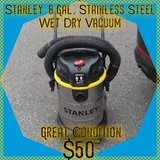 Stanley 8 Gal. Stainless Steel Shop Vac in Fort Lewis, Washington