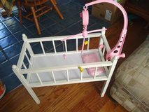 Bitty Baby Crib American Girl Sized Doll Bed in Orland Park, Illinois
