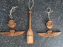 Wood Force Recon Ornaments in Okinawa, Japan