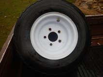 Trailer tire with rim in Fort Campbell, Kentucky