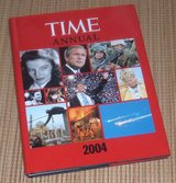 Time Annual 2004 Hard Cover Book w Dust Jacket Time Life Books Time Magazine in Chicago, Illinois