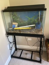 28 Gallon Fish Tank and stand in St. Charles, Illinois