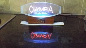 Olympia Bar Light - No Longer Made (Man Cave) in St. Charles, Illinois