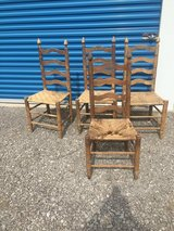 4 ladder   back Chairs in Clarksville, Tennessee
