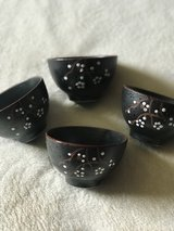 Set of 4 Japanese Bowls in Travis AFB, California