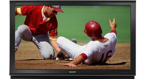 "Sharp 52"" 16:9 AQUOS HD 1080p LCD Television in Orland Park, Illinois"