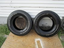 Set Of Rims For Jeep With Tires in Orland Park, Illinois