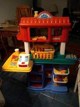 Fisher Price Child Sized Pizza Kitchen Grocery Store with Food Shopping Basket in Orland Park, Illinois