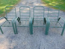 Metal Patio Chairs in Yorkville, Illinois