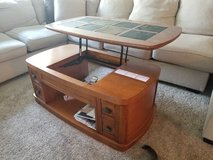 coffee table with lifting top as desk in Aurora, Illinois