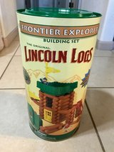 2002 Wood Lincoln Logs Frontier Explorer Building Set Classic Toy New in Travis AFB, California