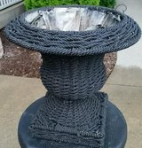 Wicker Plant Stand in Chicago, Illinois