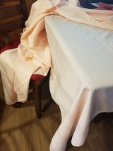 "New 60x96"" rectangular table cloth in peach in Camp Pendleton, California"