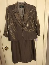 Mother of the Bride Mocha Dress Sleeveless with Jacket New with Tags in Byron, Georgia