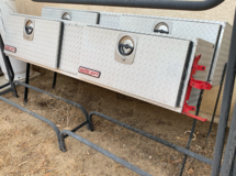 2 Diamond Plate Aluminum Top Mount Truck Tool Boxes in Yucca Valley, California