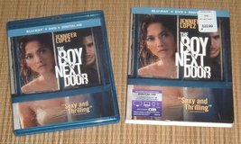 The Boy Next Door Blu-Ray + DVD * Digital and Cardboard Sleeve in Yorkville, Illinois