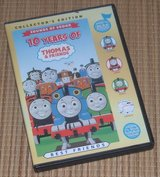 RARE Collectors Edition 10 Years of Thomas the Train Engine & Friends DVD w Play A Sound Case in Morris, Illinois