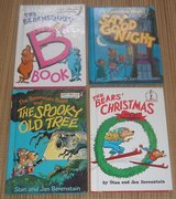 "(4) Vintage Berenstain Bears Hard Cover Books ""B"" Spooky Tree Good Night Christmas Dr Suess in Chicago, Illinois"