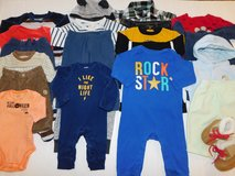 Baby Boys Newborn 0-3M 3-6M Fall Winter Clothes Lot in Fort Lewis, Washington