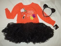 NWT Girl sizes 12M, 2T, 3T Sparkle Tutu Dress Headband DADDY IS UNDER MY SPELL in Fort Lewis, Washington