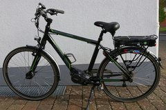 E-Trekking Bike Alu 36V plus 1 replacement battery, good condition in Spangdahlem, Germany