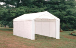 Canopy Factory Deluxe Canopy 10' x 20' Includes all Side Kits! in Plainfield, Illinois