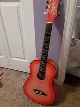 Pink childrens guitar in Aurora, Illinois