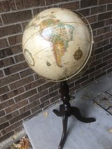 Standing Floor World Globe in Bartlett, Illinois